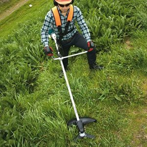 Die richtige Ausstattung beim Arbeiten mit einem Rasentrimmer